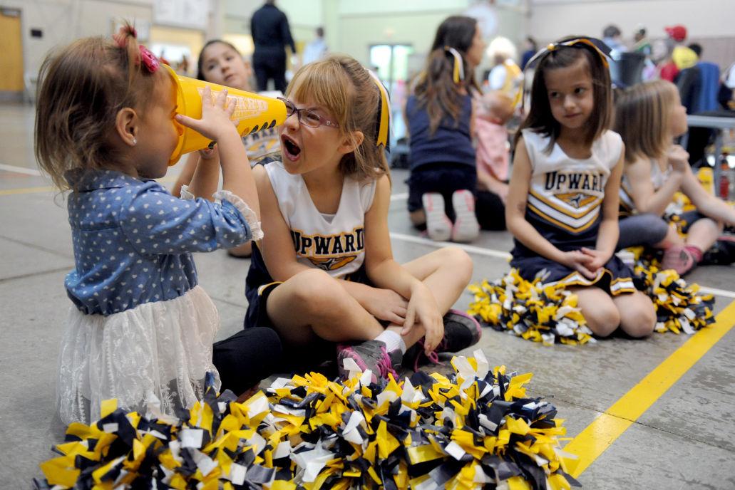 Upward Sports teaches Christian values through basketball, cheerleading