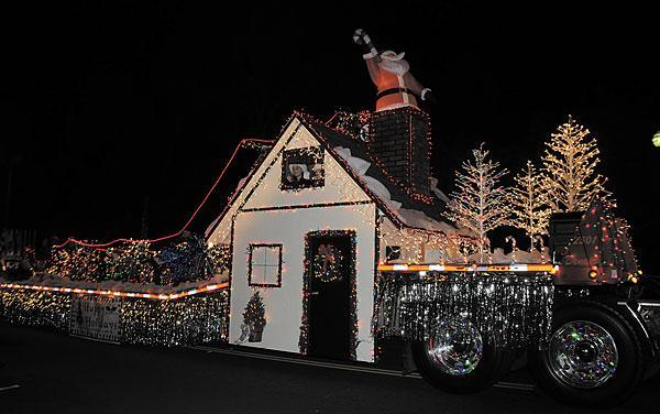 The Parade of Lights is tonight!