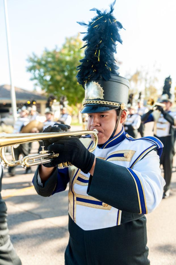 Bands compete at 36th annual Grape Bowl Classic Band Review
