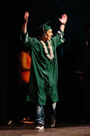 Liberty Ranch High School graduation