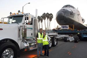 Lodians witness Endeavour's final journey through Los Angeles