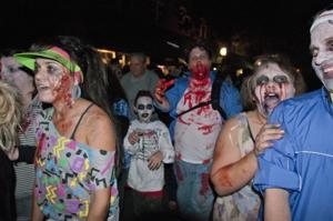 Zombies invade Downtown Lodi