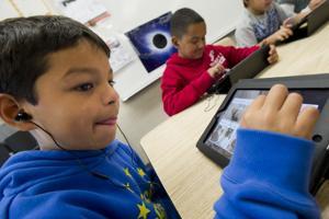 Language meets technology at Beckman Elementary School