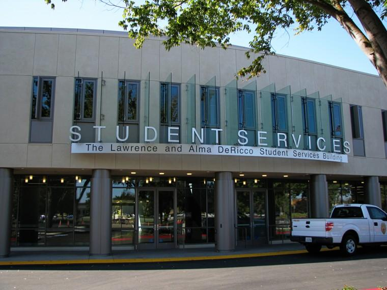 The Lawrence and Alma DeRicco Student Services Building