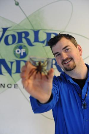 World of Wonders Science Museum's Jen Young provides insight into insect world