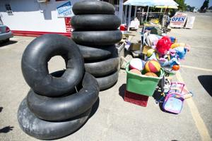 Local inner tube shop hopes people will head to river to beat the heat