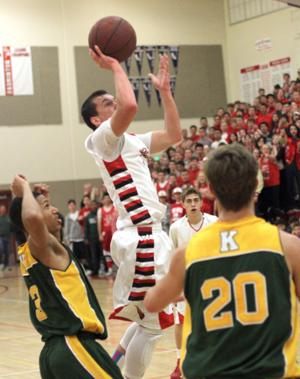 Boys basketball: Early exit for Flames