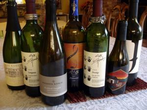 A nice set of wines for New Year's