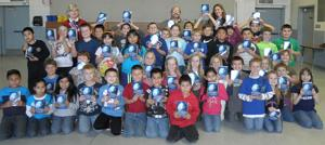 Lodi Elks Lodge gives dictionaries to students at two schools