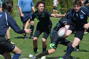 Lodi High School senior Daniel Celiz gets hooked on playing rugby
