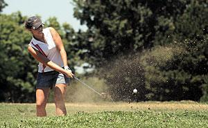 Harrison, Bielefeld hold onto leads to win titles at Junior Golf Classic