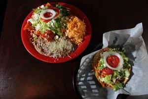 El Patio Taqueria serves traditional Mexican food