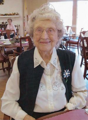 Lodi's Amanda O'Reilly celebrates 102nd birthday