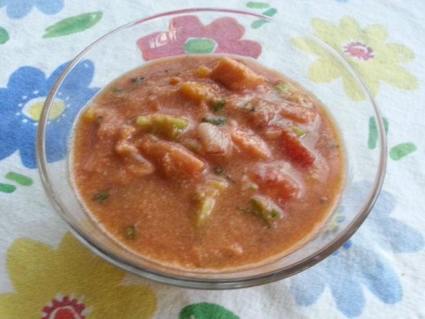 Gazpacho meets ceviche