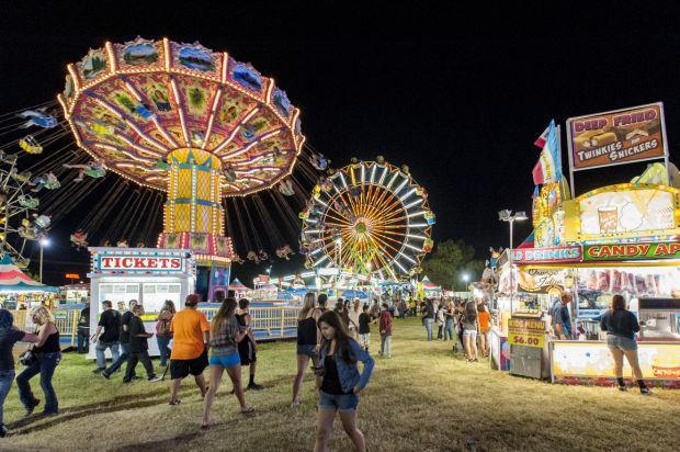 Lodi Grape Festival lights up the night