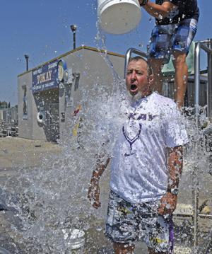Tokay High School teachers take the Ice Bucket Challenge