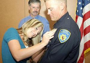 Galt High School alum is Lodi's newest police officer