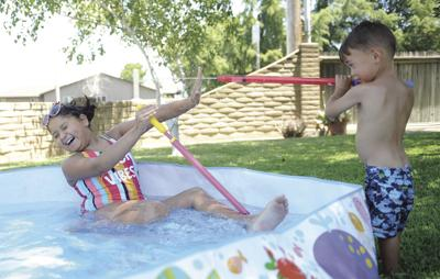 Lodi temperatures will go from hot to mild to hot again