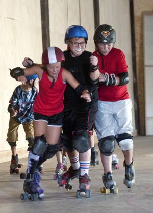 Roller derby: Lockeford squads get rolling