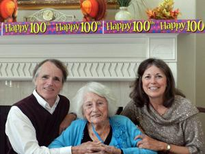 Lodi's Ruth Stowell celebrates her 100th birthday