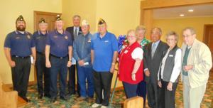 Lodi Garden Club dedicates Blue Star Memorial
