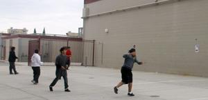Handball promotes understanding between Lodi gang rivals