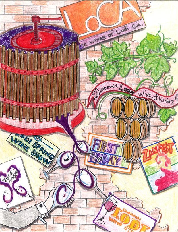 Designs chosen for Lodi traffic box art