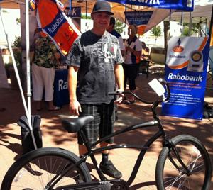 Victim of stolen bike wins a new one in raffle at Lodi Cycle Fest