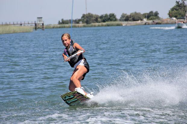 Girls Ride the Wake brings wakeboarders to Lodi's Delta channels