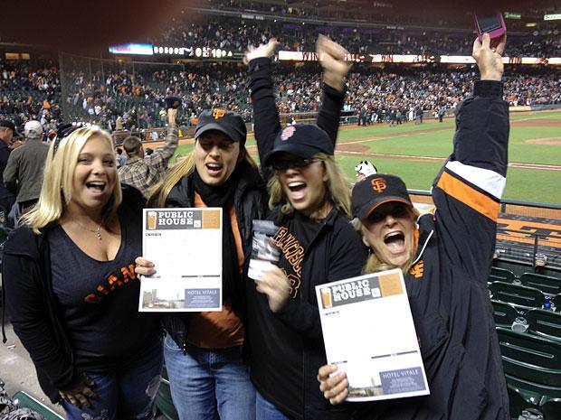 Lodi fans witness San Francisco Giants history