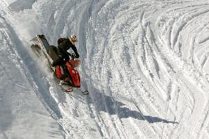 Snow machines lead to high adventure