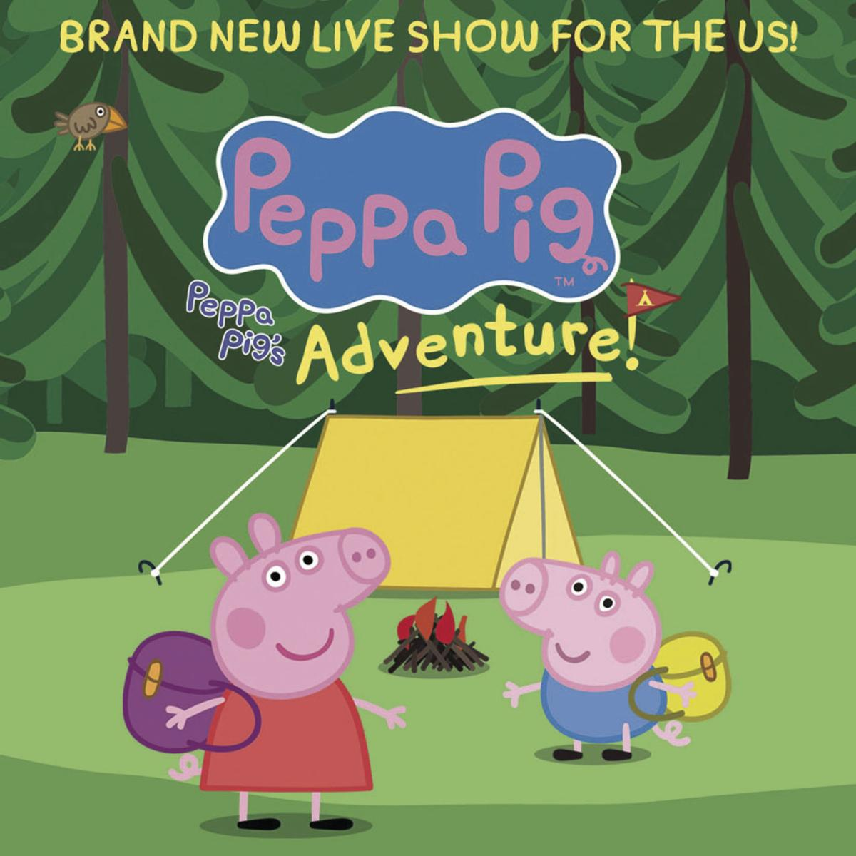 Peppa Pig ready for adventure at Bob Hope Theatre
