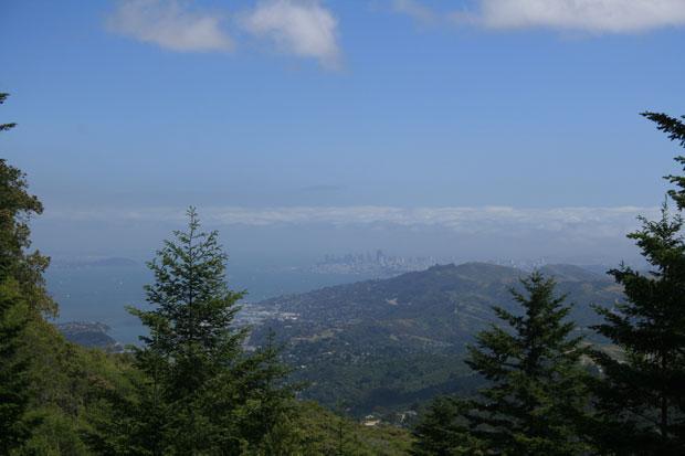 Hike Mount Tamalpais for spectacular views of San Francisco