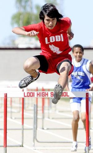 Lodi boys vault to track and field win over Bear Creek in final event