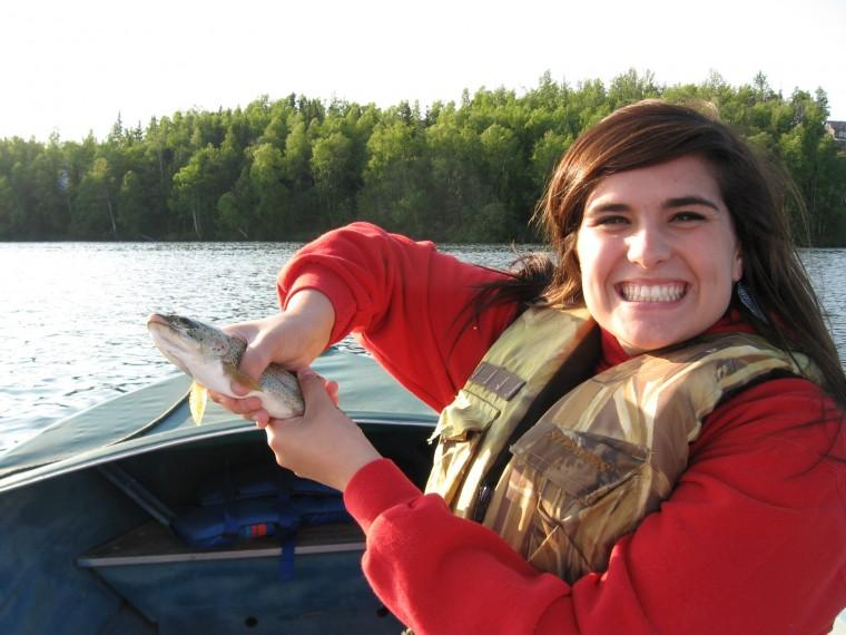 Fishing for rainbows in Alaska