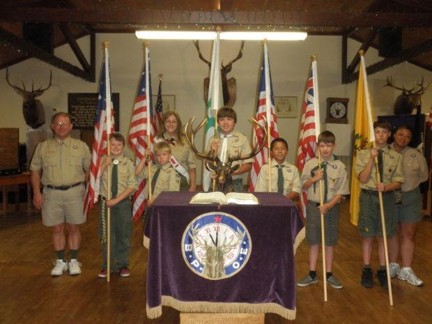 Elks hold Flag Day ceremony