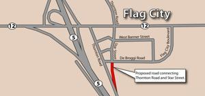 San Joaquin County wants land near Flag City to help traffic