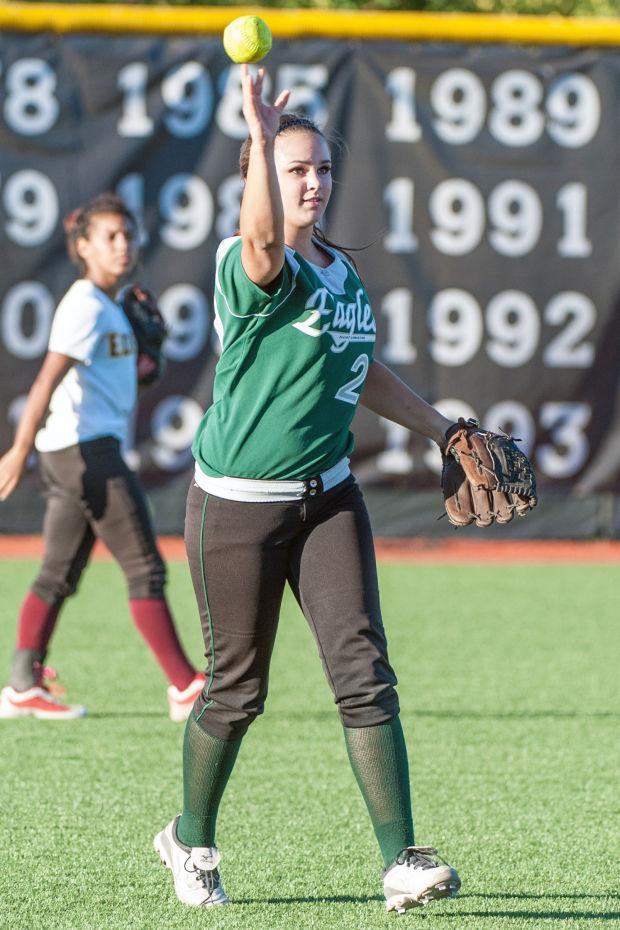 Softball: South erases late 6-run deficit in win over North
