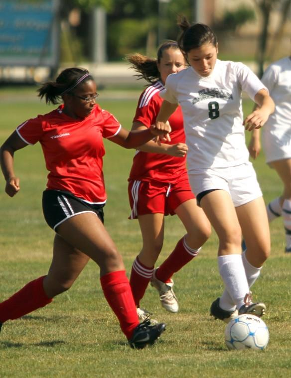 Eagles quiet the Cavaliers in first-round girls soccer rout