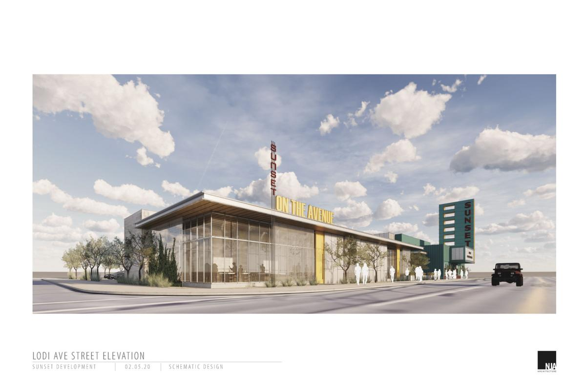 Plans dawn for Sunset: Theater exterior will look like it did in the 1950s