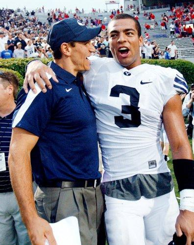 Brigham Young's Kyle Van Noy, former Lodi resident, considers going pro