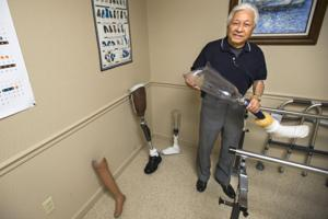 Certified orthotic and prosthetist David Vera provides a look into his work