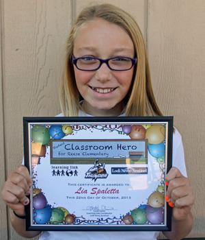 Reese Elementary School Classroom Heroes