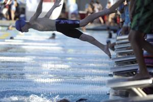 Lodi City Swimming Championships: Splashing into the night