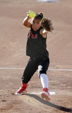 Youth softball: Aztecs hold of Bruins' surge to win 10U championship
