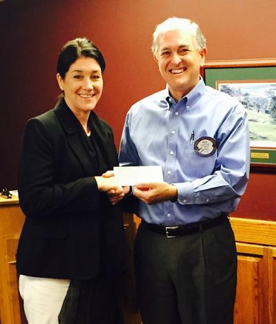 Lodi Sunrise Rotary makes donation to United Cerebral Palsy