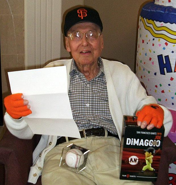 George Steedman celebrates 100th birthday