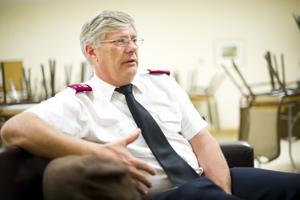Lodi Salvation Army Capt. Dan Williams helped disaster victims move forward and begin rebuilding