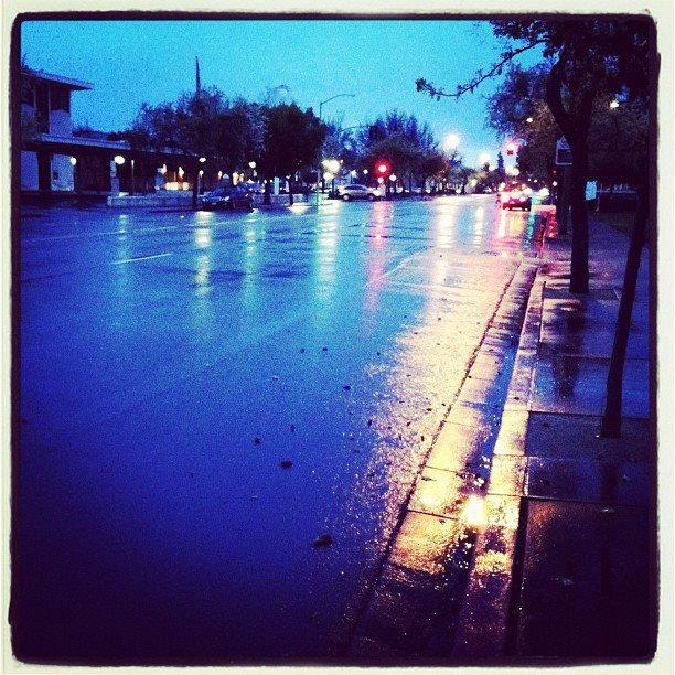 Rain in Lodi