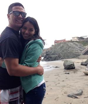 Brianda Garcia and Haiden Contreras were engaged in July at China Beach